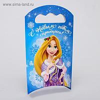 Подарочная коробка «С Новым Годом!», Принцессы, 12 х 18,5 х 3,8 см
