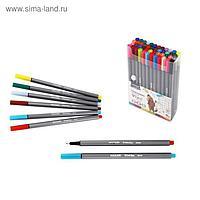 Набор капиллярных ручек Mazari Vivo Line, 48 цветов, 0.4 мм