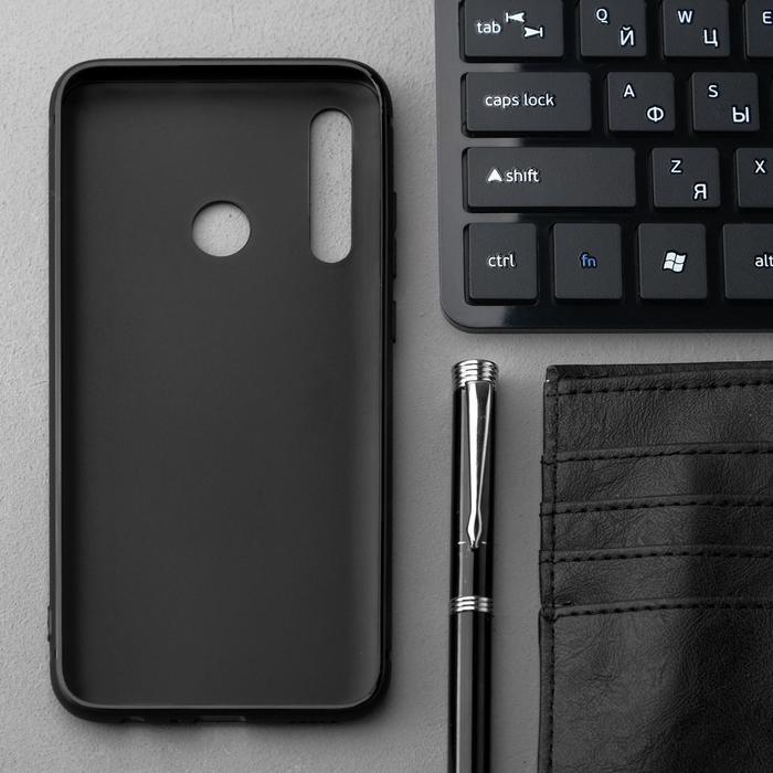 Чехол Innovation, для Huawei Honor 10i/20 Lite, силиконовый, матовый, черный - фото 2