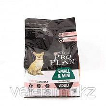 Pro Plan Small & Mini Adult Sensitive Корм Для Взрослых Собак Мелких Пород, С Лососем, 3 Кг, 700 Г