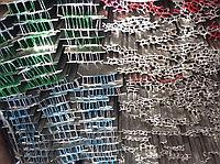 Т-профиль с пазами алюминиевый