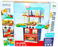 8764A Кухня с водой Play House свет,муз, 51предмет, 60*53см, фото 1