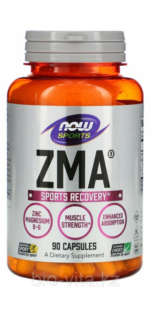 Спортивная серия, ZMA, восстановление после занятий спортом, 90 капсул.