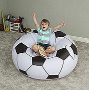 Надувное кресло - пуфик Футбольный мяч, Bestway 75010