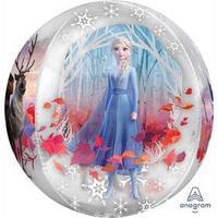 Шар фольгированный 16' 3D сфера ' Холодное сердце II' 1209-0383
