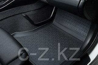 Резиновые коврики с высоким бортом для Toyota Hilux 2012-2015, фото 2