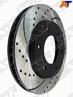 Комплект дисков тормозных передний перфорированные MITSUBISHI L200 05- PAJERO SPORT 08-14