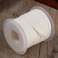 Фитиль из натуральной хлопчатобумажной нити для изготовления свечей, фото 1