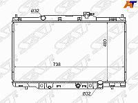 Радиатор HONDA CR-V 01-06 /ELEMENT 03-