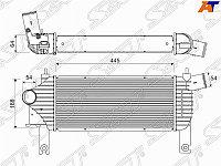 Радиатор интеркулера NISSAN NAVARA 04- /PATHFINDER 05-
