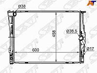 Радиатор BMW E90 1.6 /1.8 /2.0 /2.3 /2.5 /2.8 /3.0 05- /1-SERIES E87 1.6 /2.0 /2.8 /3.0 /3.5 04- /X1