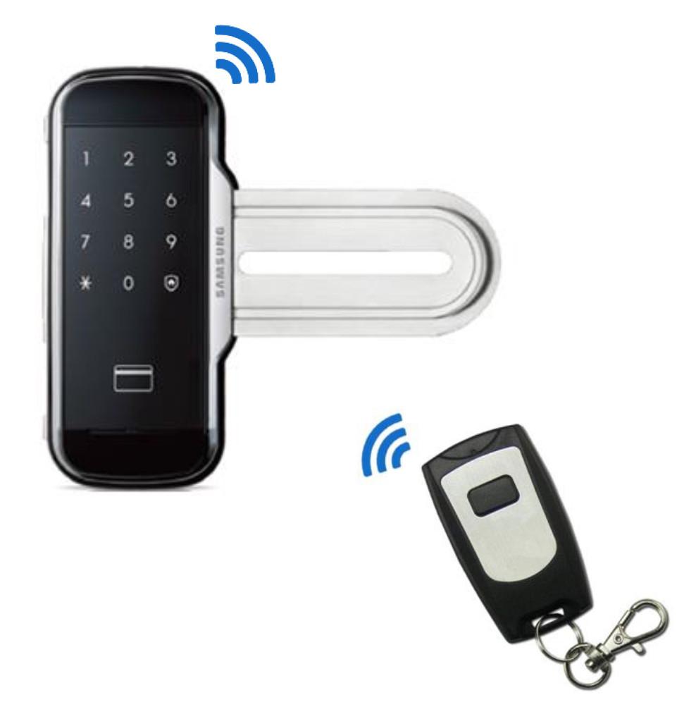Электронный замок для стеклянной двери Samsung SHS-G517W