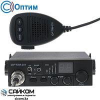 Автомобильная Си-Би Радиостанция Optim-270 для работы и общения, 12/24 В