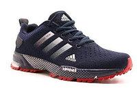 Кроссовки беговые Adidas Marathon TR синий/белый/красный