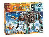 Конструктор аналог лего LEGO 70145 Legends of Chima 10297 Bela Ледяной мамонт-штурмовик Маулы, фото 2