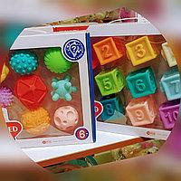 Huanger. Резиновые игрушки, кубики, шары