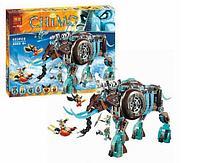 Конструктор аналог лего LEGO 70145 Legends of Chima 10297 Bela Ледяной мамонт-штурмовик Маулы
