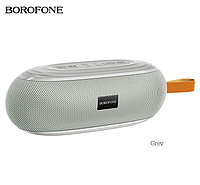Портативная колонка Borofone BR9 Erudite серый