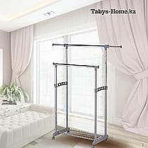 Вешалка для одежды гардеробная Табыс EP 9098-1 (серый цвет), фото 3