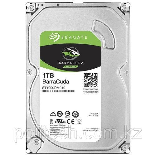 "Жесткий диск HDD 1Tb Seagate BarraCuda SATA6Gb/s 7200rpm 64Mb 3,5"" ST1000DM010"