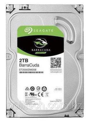 "Жесткий диск HDD 2Tb Seagate Barracuda SATA6Gb/s 7200rpm 256Mb 3,5"" ST2000DM008"