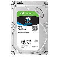 """Жесткий диск для видеонаблюдения 3Tb Seagate SkyHawk Surveillance SATA3 3.5"""" 256Mb ST3000VX009"""