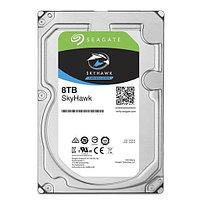 """Жесткий диск для видеонаблюдения 8Tb Seagate SkyHawk SATA3 3.5"""" 7200 rpm 256Mb ST8000VX004. Диски выдерживают"""