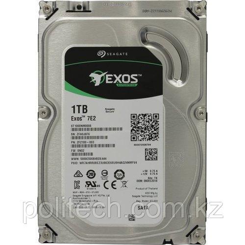 "Корпоративный жесткий диск 1Tb Seagate Enterprise EXOS 7E2 ST1000NM0008 SATA3 3.5"" 128Mb 7200rpm MTBF - 2"