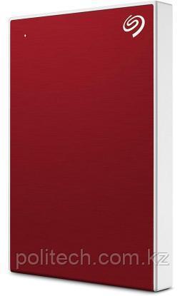 "Внешний HDD Seagate 4Tb Backup Plus Portable USB3.0 2.5"" Красный Пластик STHP4000403"