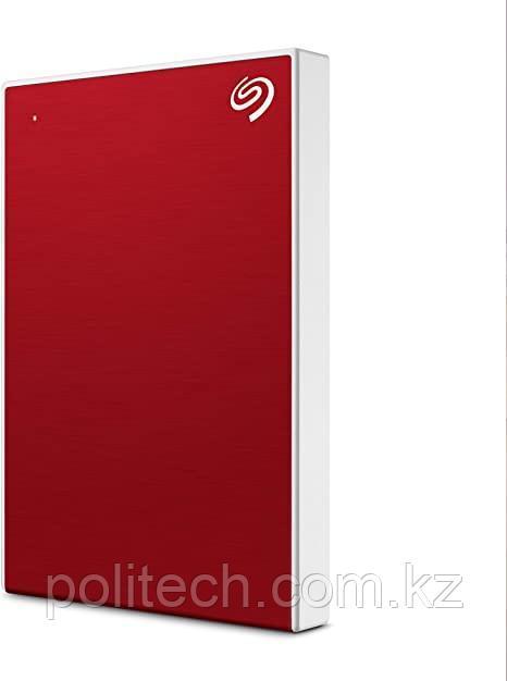 "Внешний HDD Seagate 1Tb One Touch Red STKB1000403 2,5"" USB3.2 Красный Пластик"