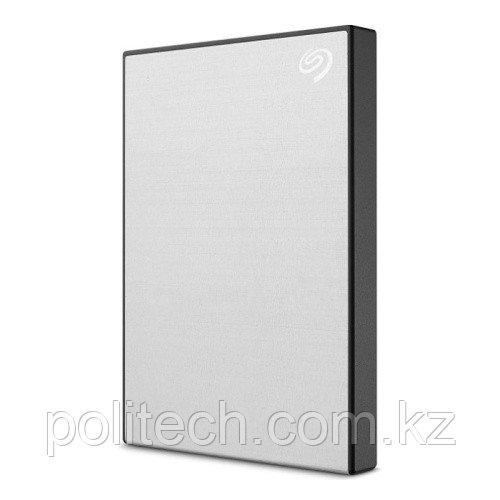 "Внешний HDD Seagate 1Tb One Touch Silver STKB1000401 2,5"" USB3.2 Серебристный Пластик"