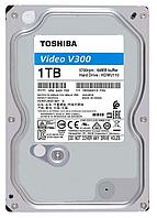 Жесткий диск для Видеонабюдения HDD 1Tb TOSHIBA Video Streaming V300 SATA3 5700rpm 64Mb 24/7 HDWU110UZSVA Для