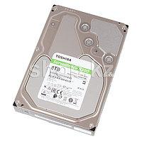 "Жесткий диск для Видеонаблюдения HDD 8Tb TOSHIBA S300 7200rpm 256Mb SATA3 3,5"" HDWT380UZSVA"