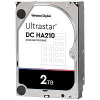 "Жесткий диск повышенной надежности HDD 2Tb WD ULTRASTAR DC HA210 128MB 7200RPM SATA3 ULTRA 3,5"""