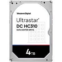 "Жесткий диск повышенной надежности HDD 4Tb WD ULTRASTAR DC HС310 256MB 7200RPM SATA3 3,5"" HUS726T4TALA6L4"