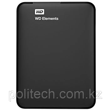 "Внешний HDD Western Digital 1Tb Elements Portable 2.5"" WDBUZG0010BBK-WESN USB3.0 Black. Большая емкость в"