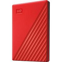 "Внешний HDD Western Digital 2Tb My Passport 2.5"" USB 3.1 Цвет: Красный WDBYVG0020BRD-WESN"