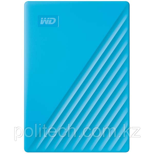 "Внешний HDD Western Digital 4Tb My Passport 2.5"" USB 3.1 Цвет: Синий WDBPKJ0040BBL-WESN"