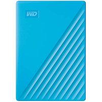 """Внешний HDD Western Digital 4Tb My Passport 2.5"""" USB 3.1 Цвет: Синий WDBPKJ0040BBL-WESN"""