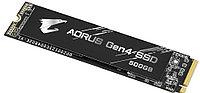 Твердотельный накопитель 500Gb SSD Gigabyte AORUS M.2 2280 PCIe R5000Mb/s W2500MB/s GP-AG4500G