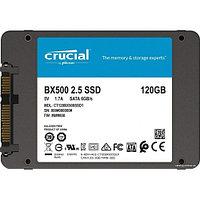 """Твердотельный накопитель 120GB SSD Crucial BX500 2.5"""" SATA3 R540Mb/s, W500MB/s 7mm CT120BX500SSD1"""