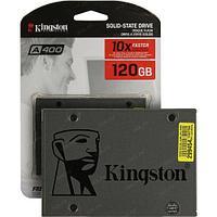"""Твердотельный накопитель 120GB SSD Kingston A400 SA400S37/120G 2.5"""" SATAIII R500MB/s W320MB/s"""