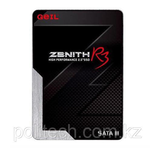"""Твердотельный накопитель 128GB SSD GEIL GZ25R3-128G ZENITH R3 Series 2.5"""" SSD SATAIII Чтение 550MB/s, Запись"""