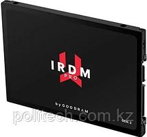 """Твердотельный накопитель 512GB SSD GOODRAM IRDM PRO 2.5"""" SATA3 R555Mb/s, W535MB/s IRP-SSDPR-S25C-512. Надежная"""