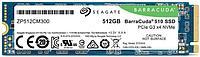 Твердотельный накопитель 512GB SSD Seagate Barracuda R3400Mb/s W2180MB/s M.2 PCI-Express Gen3 x4 ZP512CM30041.