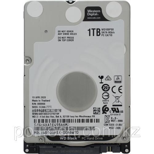 """Жесткий диск для ноутбука c высокой производительностью 1Tb WD Black 64Mb 2,5"""" SATA6Gb/s 7200rpm 7,5 мм"""