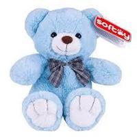 SOFTOY Игрушка мягкая медведь голубой 30 см