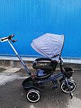 Трёхколёсный велосипед с поворотным сиденьем Т700, фото 4