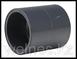 Муфта соединительная для труб PVC (75 мм)