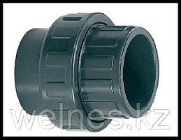 Муфта разъемная для труб PVC (75 мм)